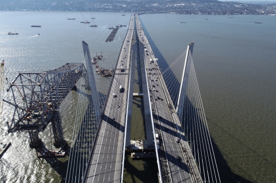 New Drone Photos of Mario M. Cuomo Bridge